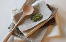 Как удалить неприятный запах с кухонных полотенец